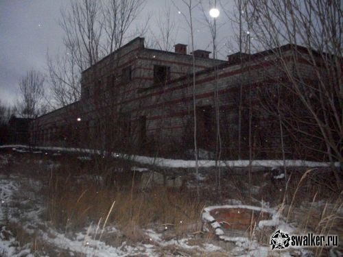 Заброшенная военная часть (Версия 3), Московская область
